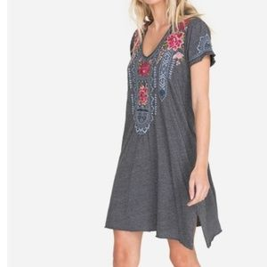 Nwt Johnny Was embroidered tunic dress  S